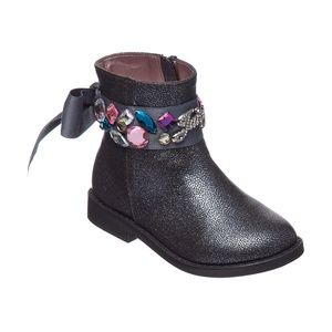 Juicy Couture Lil Napples Ankle Boots -Toddler